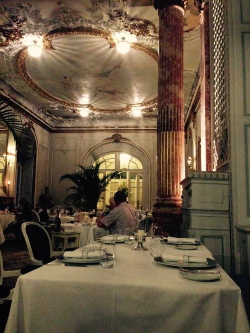 Le restaurant du Pestana Hotel