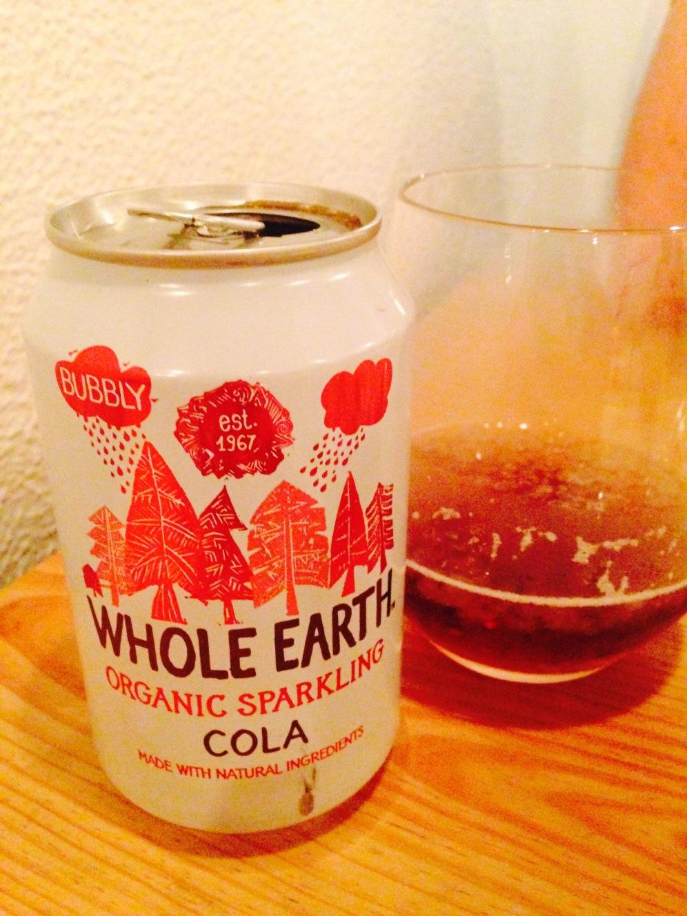 Le cola bio et vegan