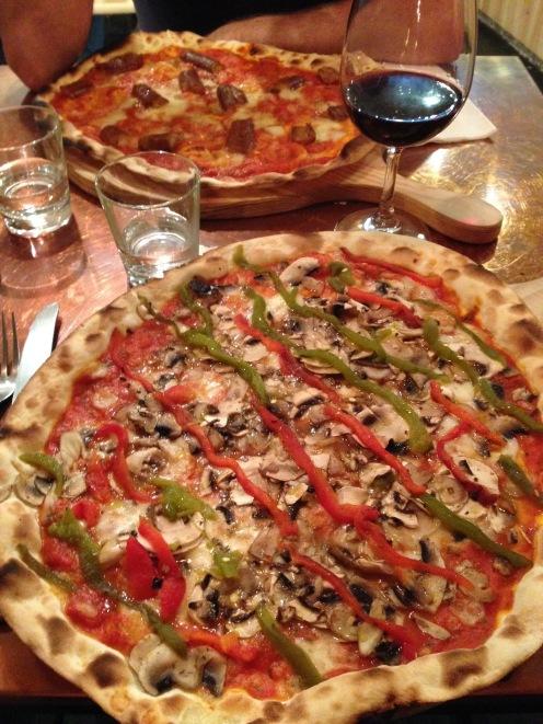 Les pizzas vegan