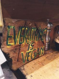 Everything is vegan