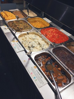 Buffet vegan