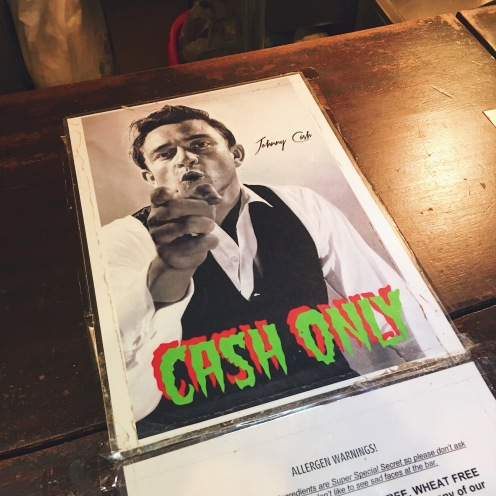 "Johnny ""cash only"" :D"