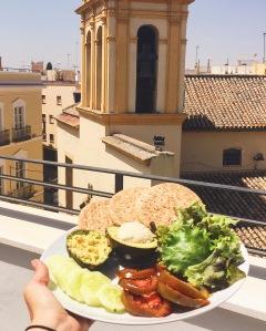 Déjeuner sur les toits de Séville