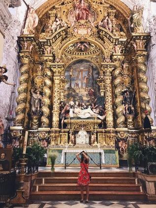 Dans une église de Séville
