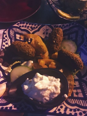 Falafels avec mayonnaise vegan !