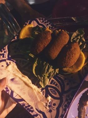 Croquettes champignons et épinards