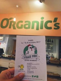 Organic's à Séville. Ils parlent même de la Veggie Pride !!
