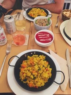 Une paella vegan à Séville, c'est possible !