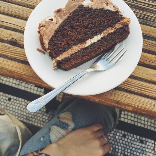 Moccha Cake totalement vegan