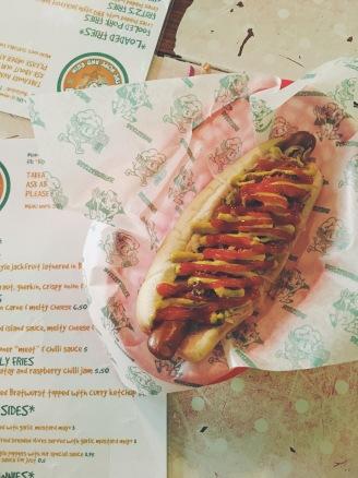 Vegan food à Brighton